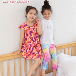 Red Camouflage Design High Quality Girls Clothing